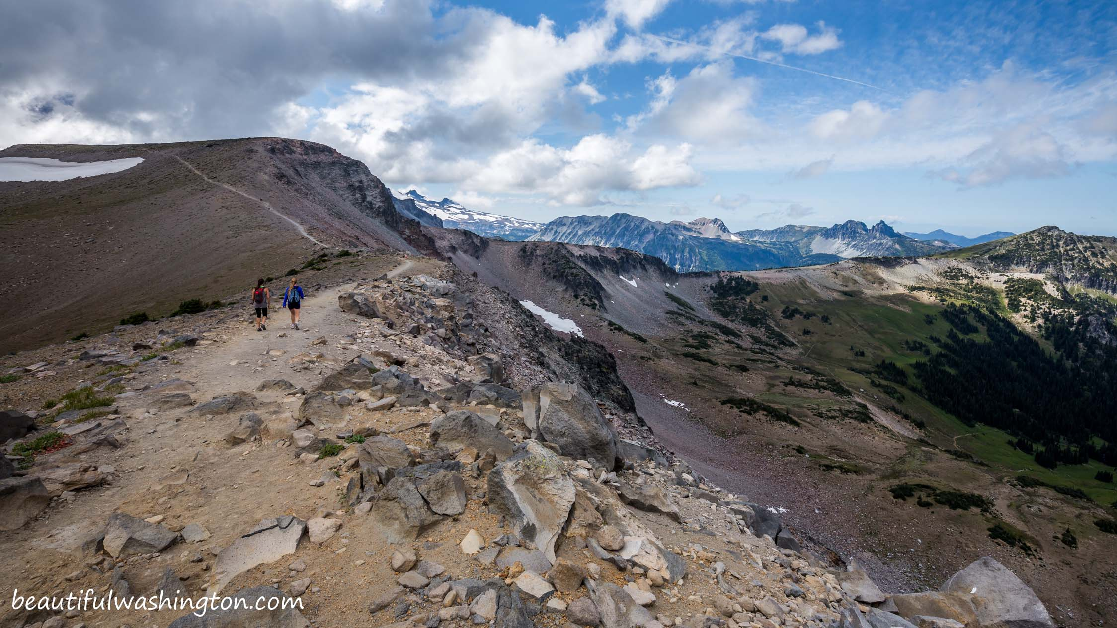 Photo from Mountain Rainier, Sunrise Area, Burroughs Mountain Trail