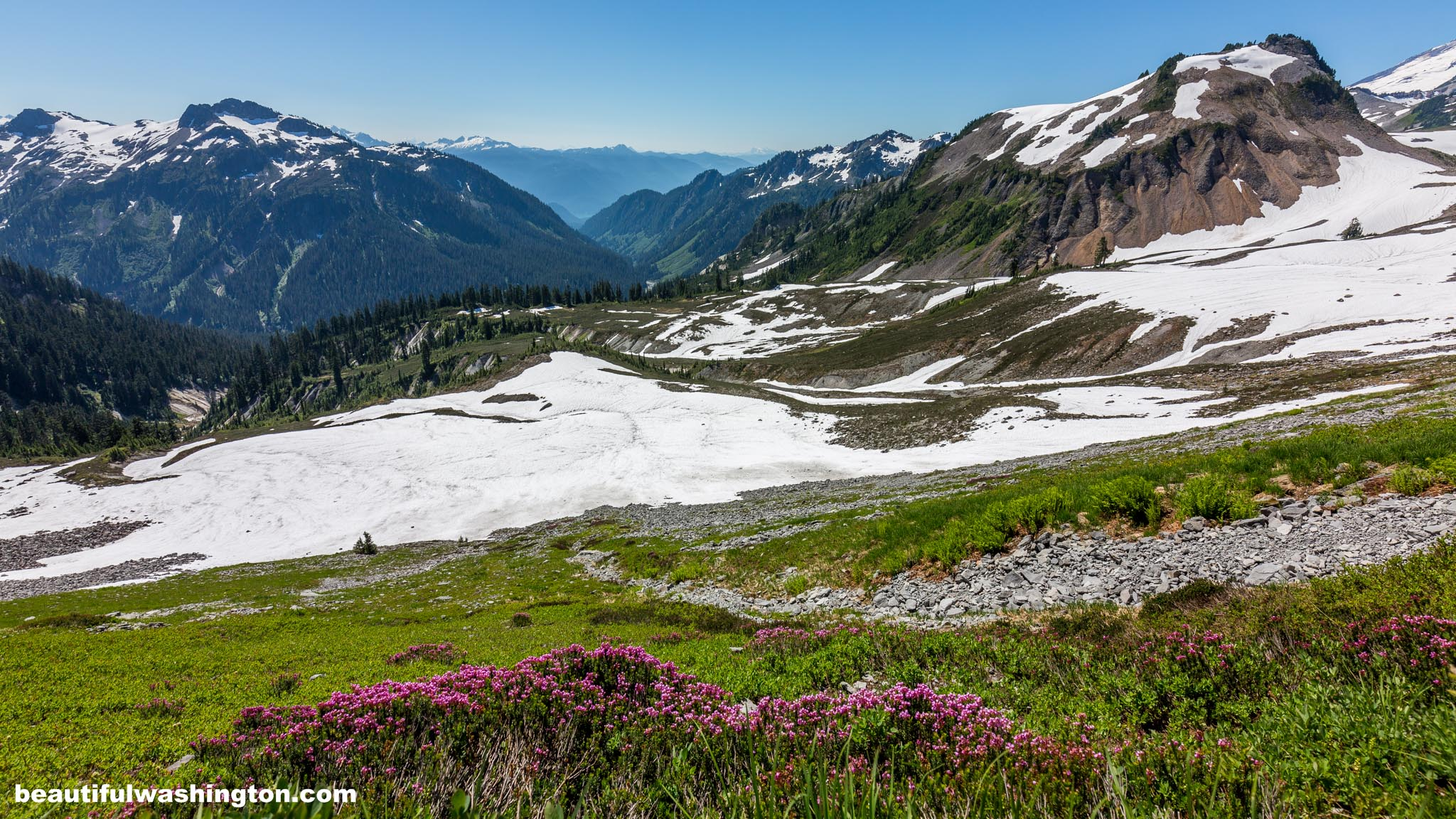 Photo from North Cascades, Mt. Baker Area, Chain Lakes Trail