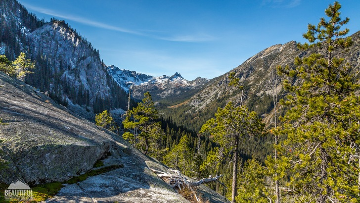 Photo from the Colchuck Lake Trail, Central Cascades Region, Leavenworth Area