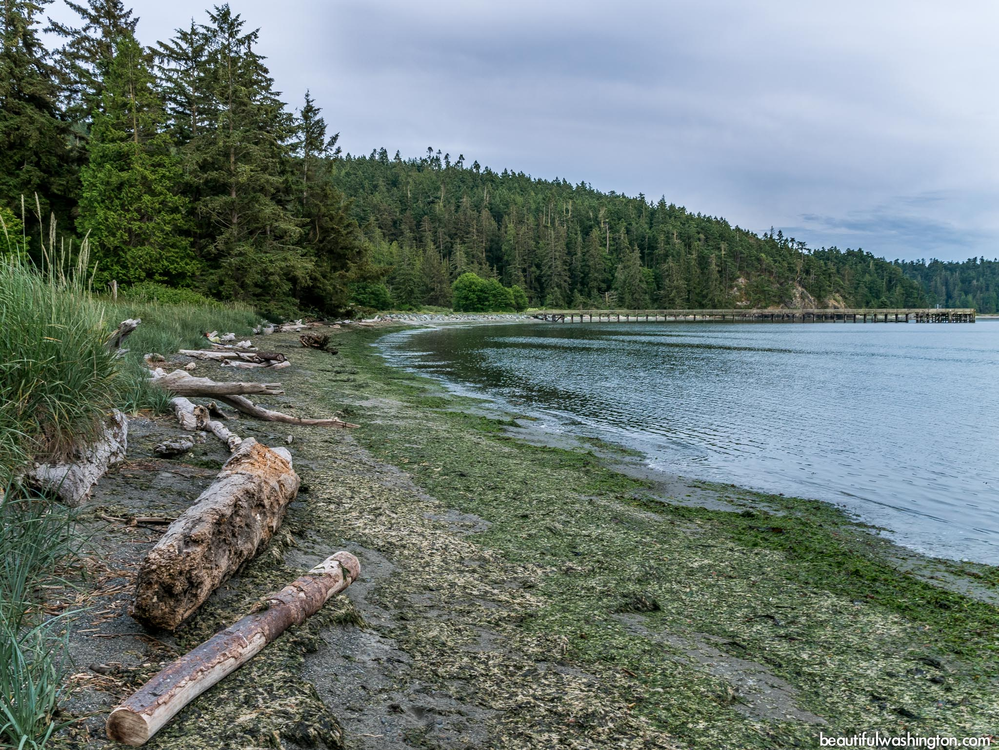 Photo from North Cascades, Anacortes Island, Deception Pass Headlands State Park