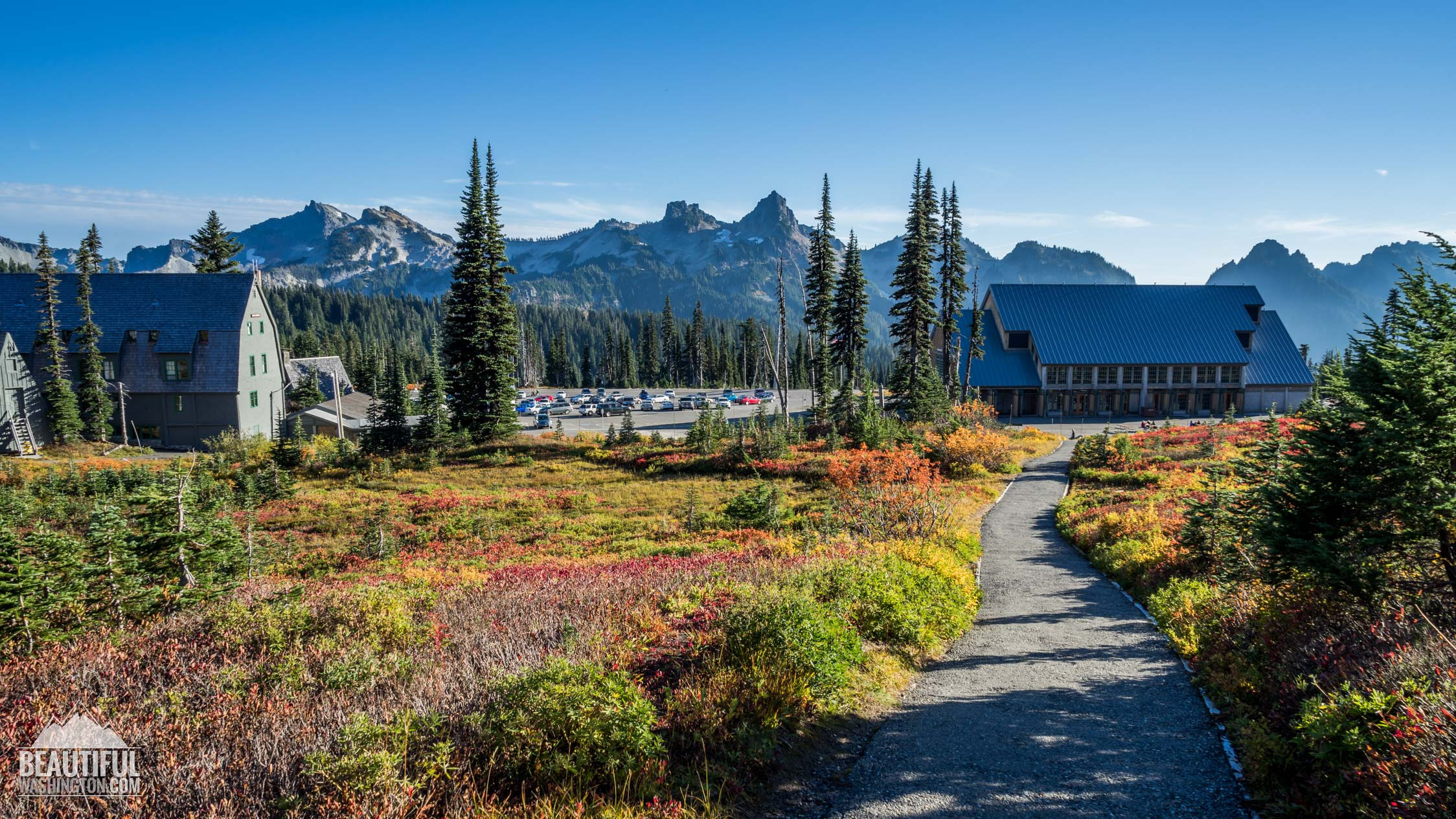 Photo from Mount Rainier National Park, Paradise Area, Henry M. Jackson Visitor Center