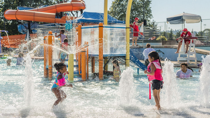 Photo taken at Henry Moses Aquatic Center, Renton, Washington State
