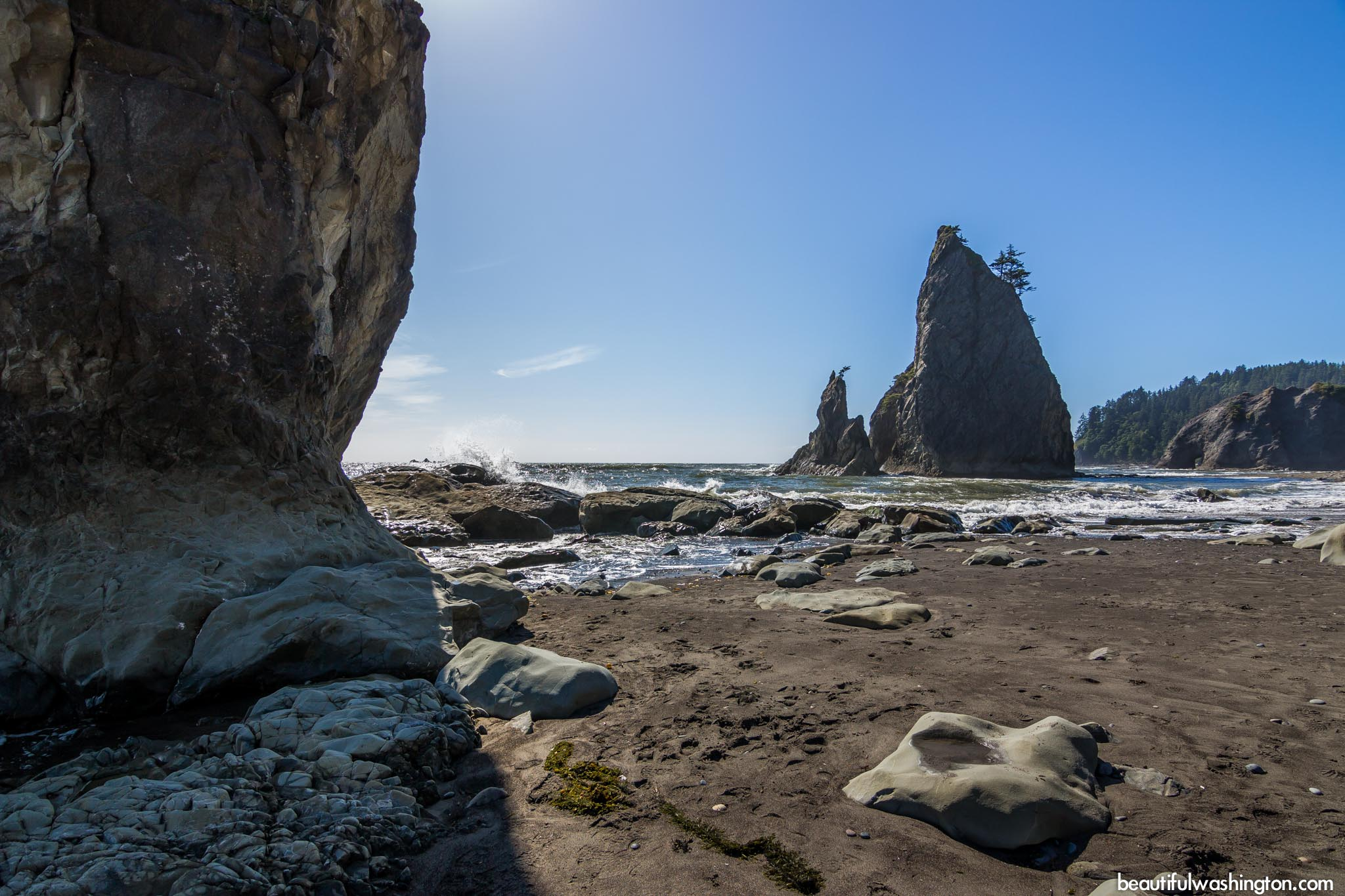 Photo from Olympic Peninsula, Hole in the Wall