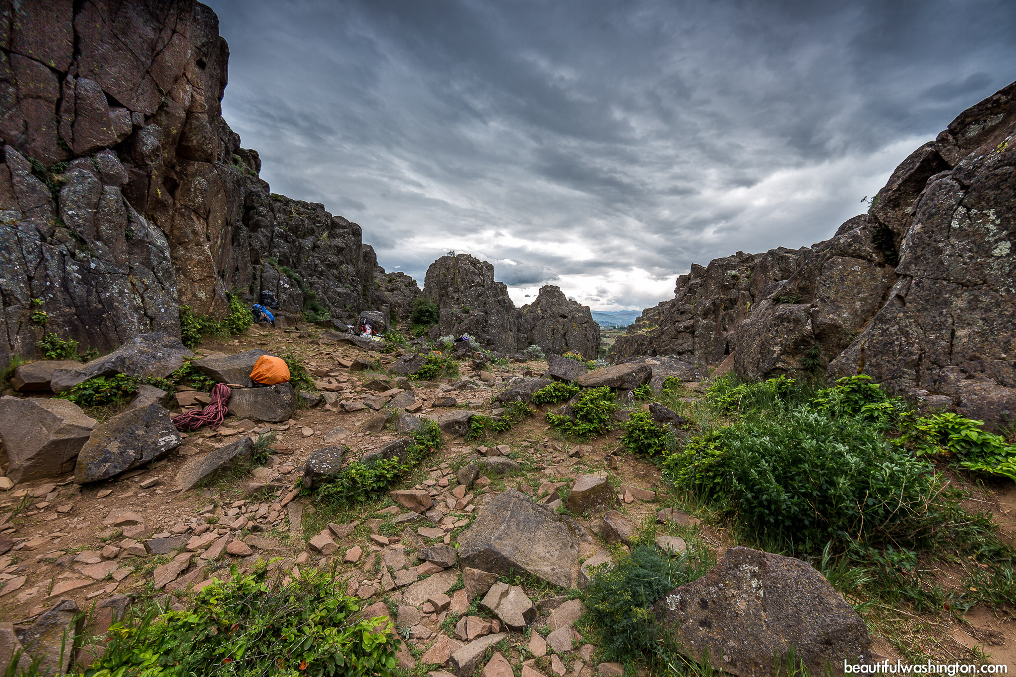 Photo from Eastern Washington, Dallesport, Horsethief Butte Trail