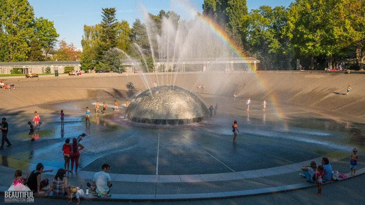 Photo of International Fountain at Seattle Center, Seattle