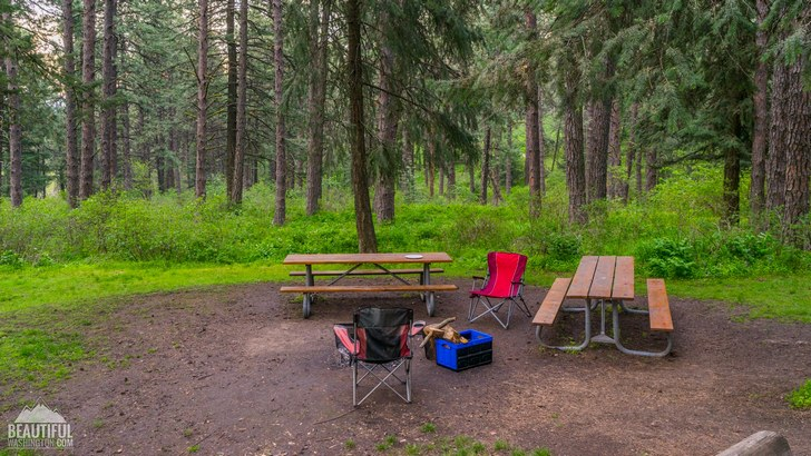 Kamiak Butte County Park Campground