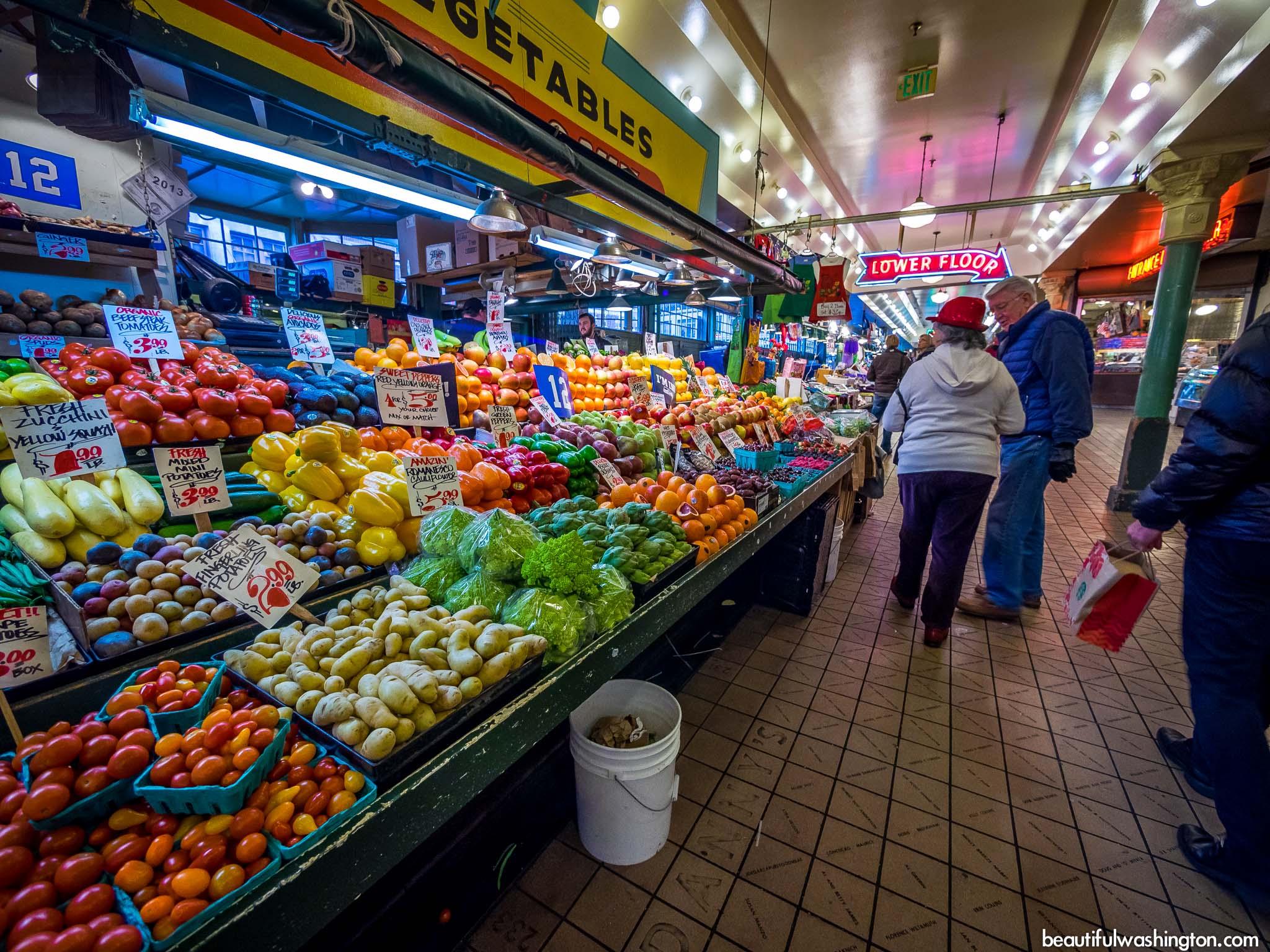 Bildergebnis für pike place market seattle