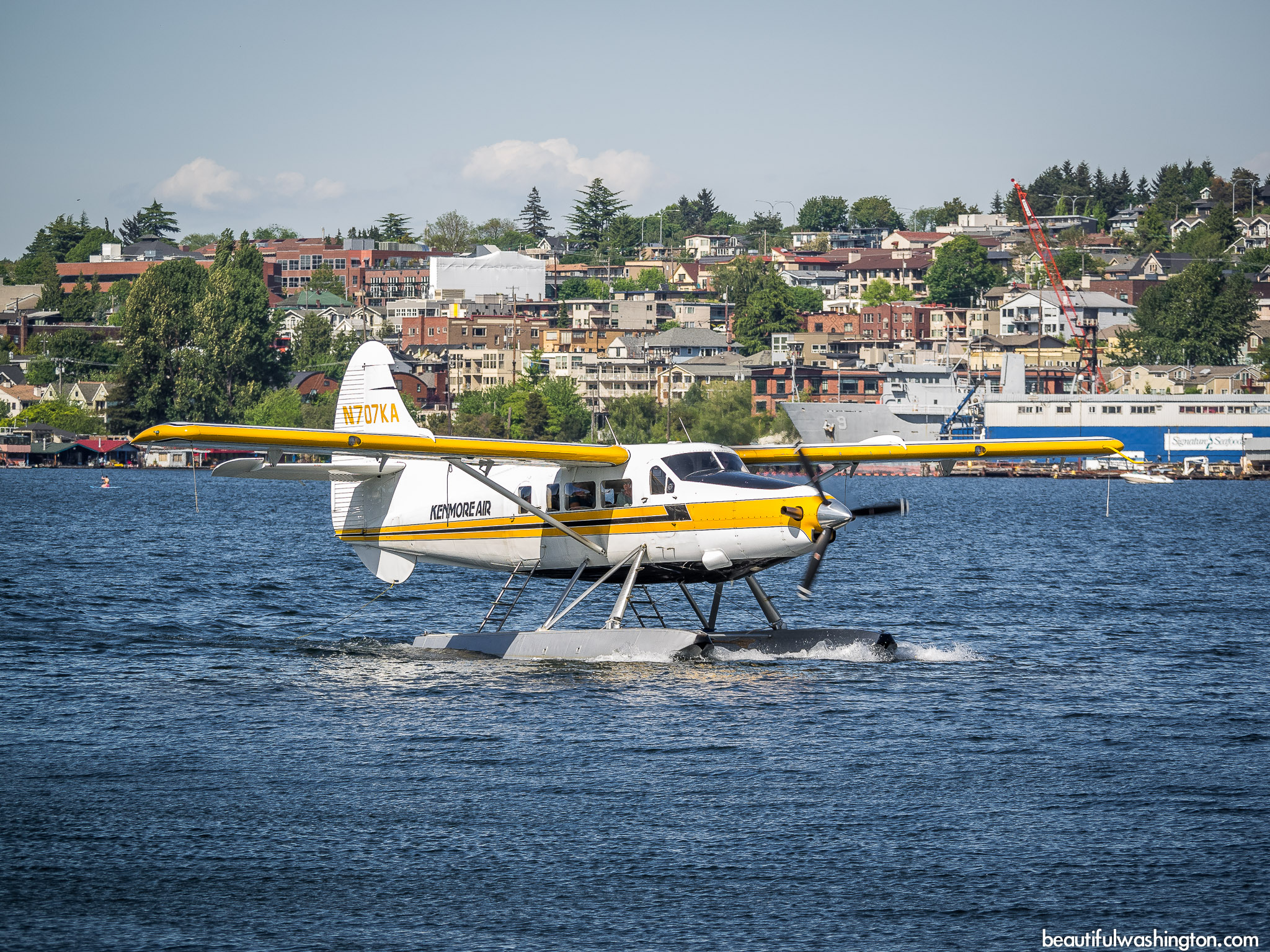 Photo from King County, Seattle, Lake Union Park