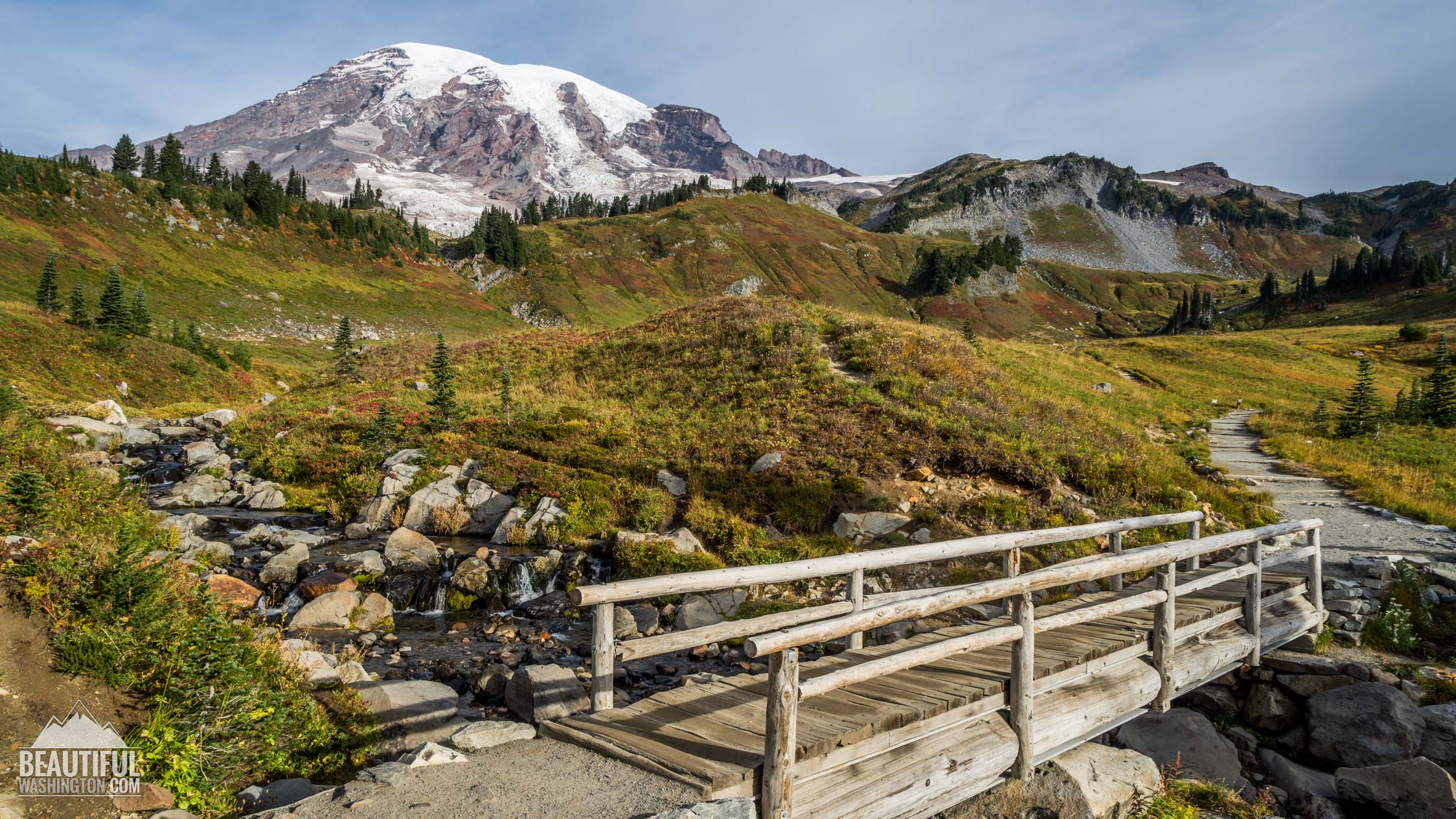 Photo from Mount Rainier, Paradise Area, Myrtle Falls