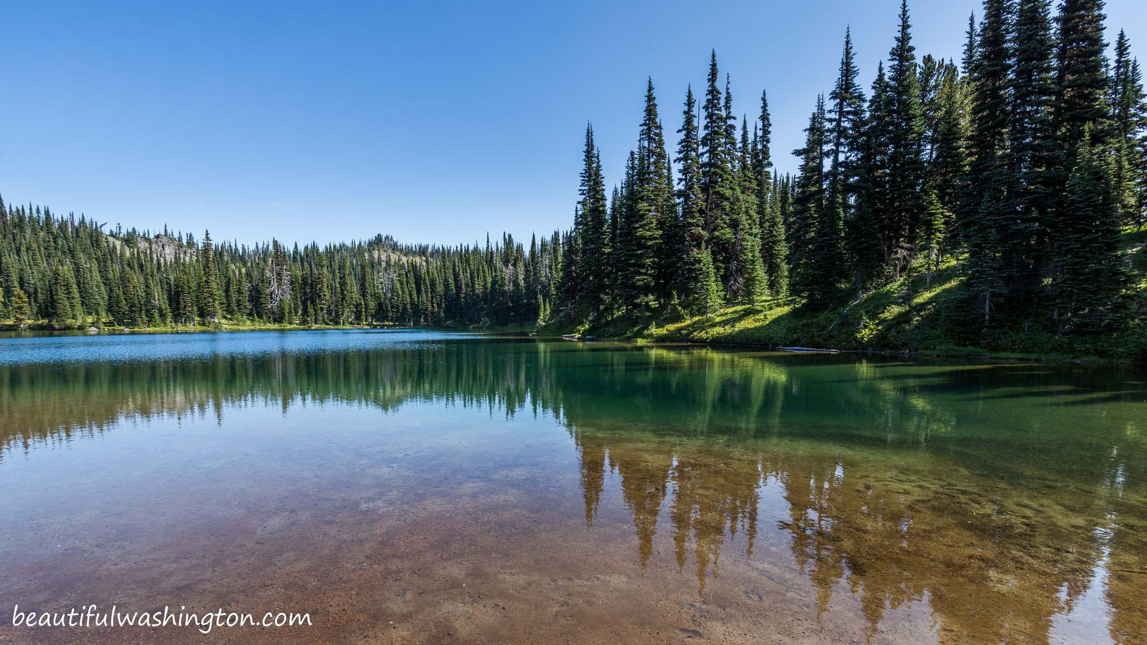 Palisades Trail wa Palisades Lakes Trail 16