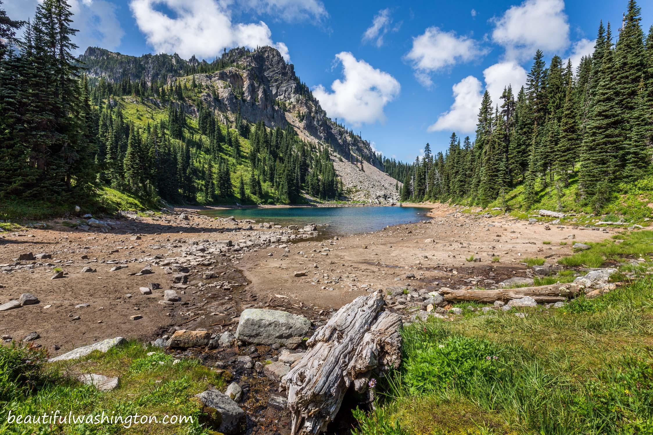 Palisades Trail wa Palisades Lakes Trail 46