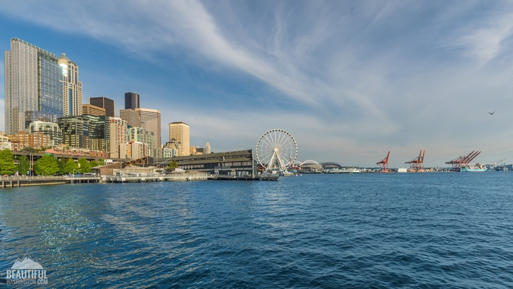 Photo from Pier 62/63, Seattle Waterfront