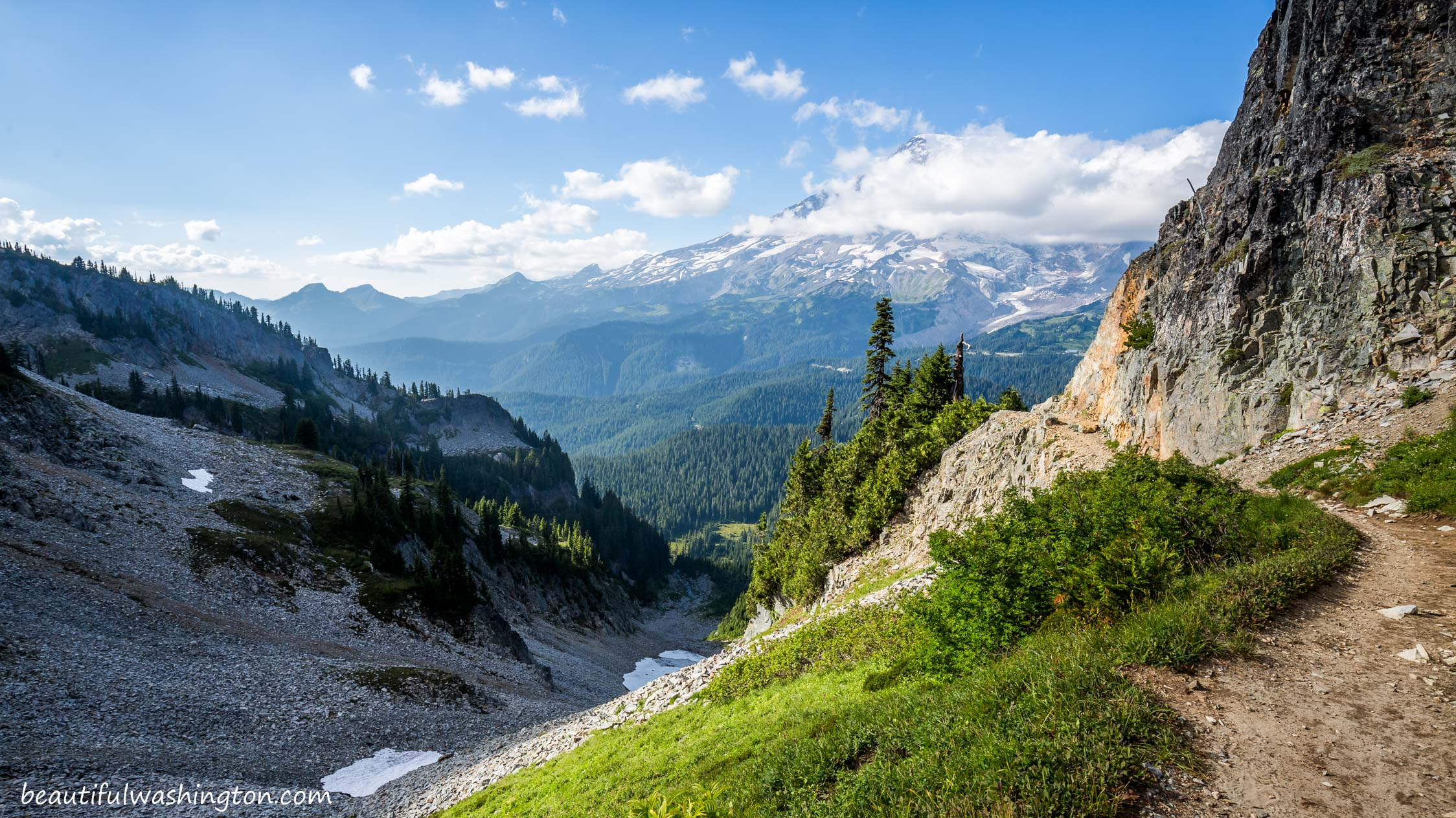 Photo from Mount Rainier, Paradise Area, Pinnacle Peak