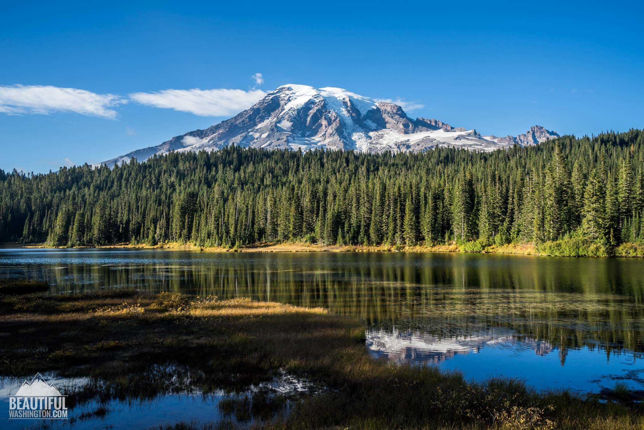 Photo from Mount Rainier National Park, Paradise Area, Reflection Lakes