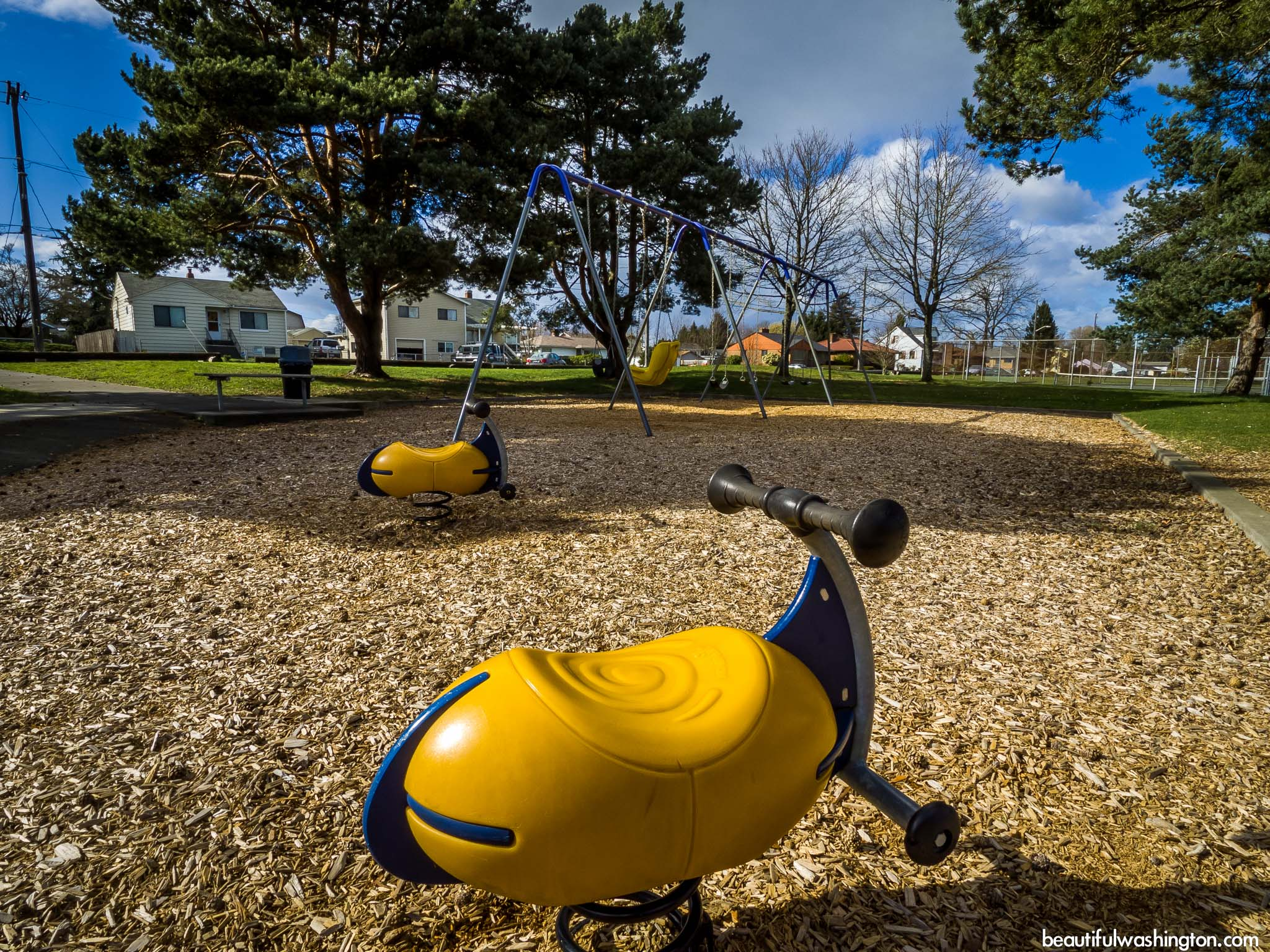 Photo from King County, Seattle, Riverview Playfield Park