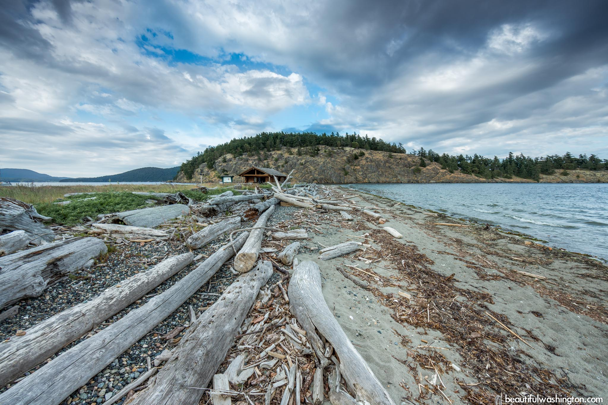 Photo from North Cascades, Lopez Island, Spencer Spit State Park