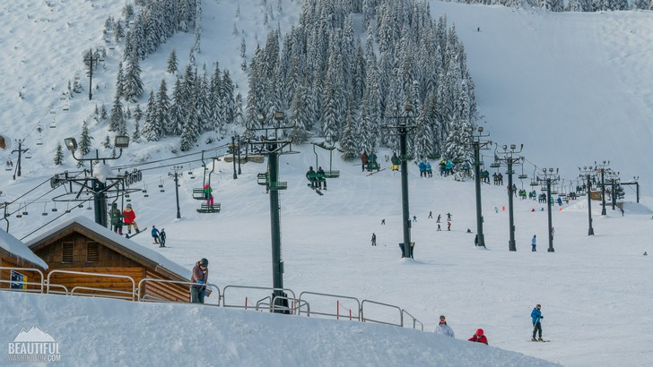 Photo taken at the Summit (Summit Central area) ski resort, Snoqualmie Region