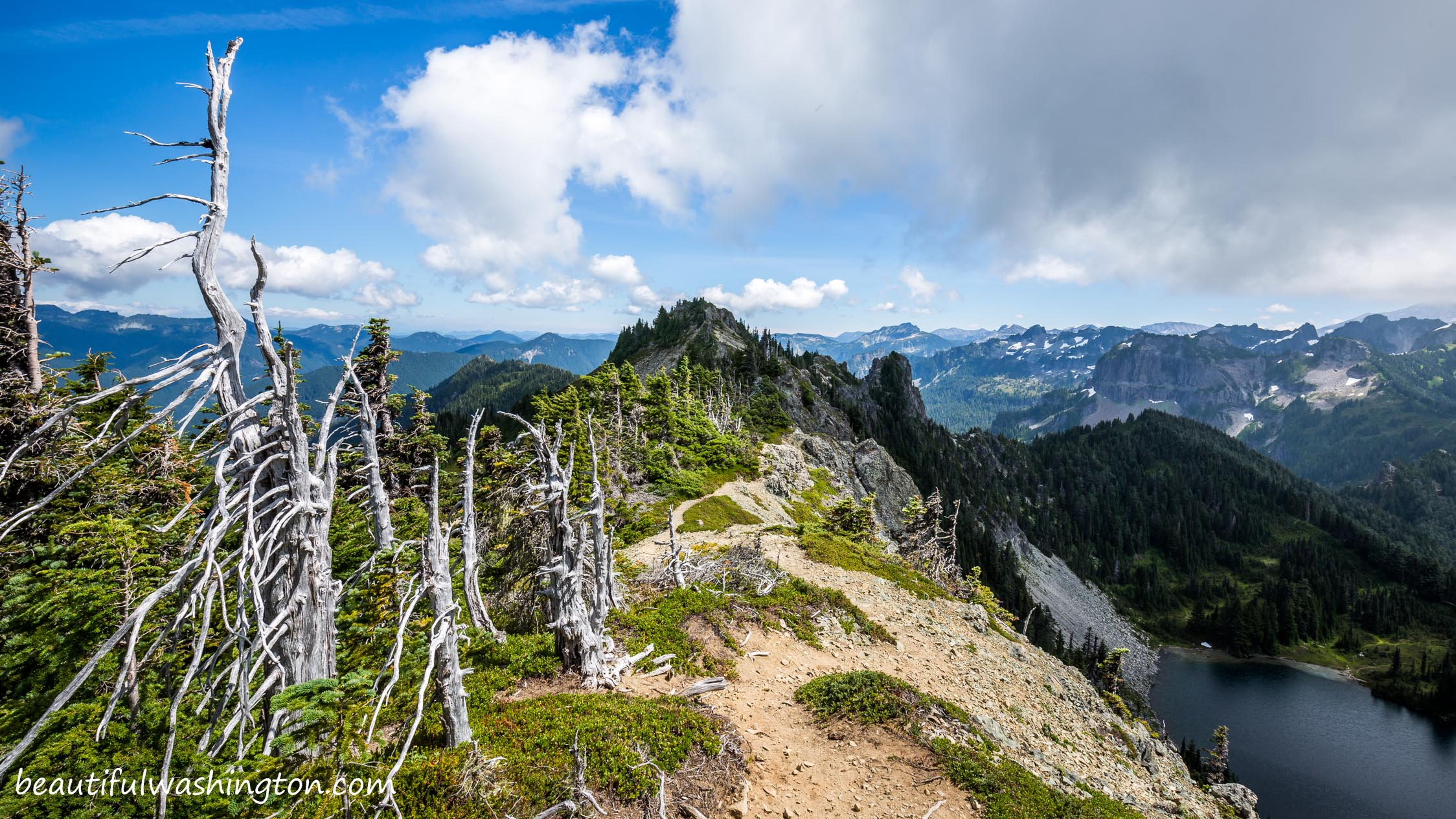 Photo from Mt. Rainier, Carbon River and Mowich Lake Area, Tolmie Peak