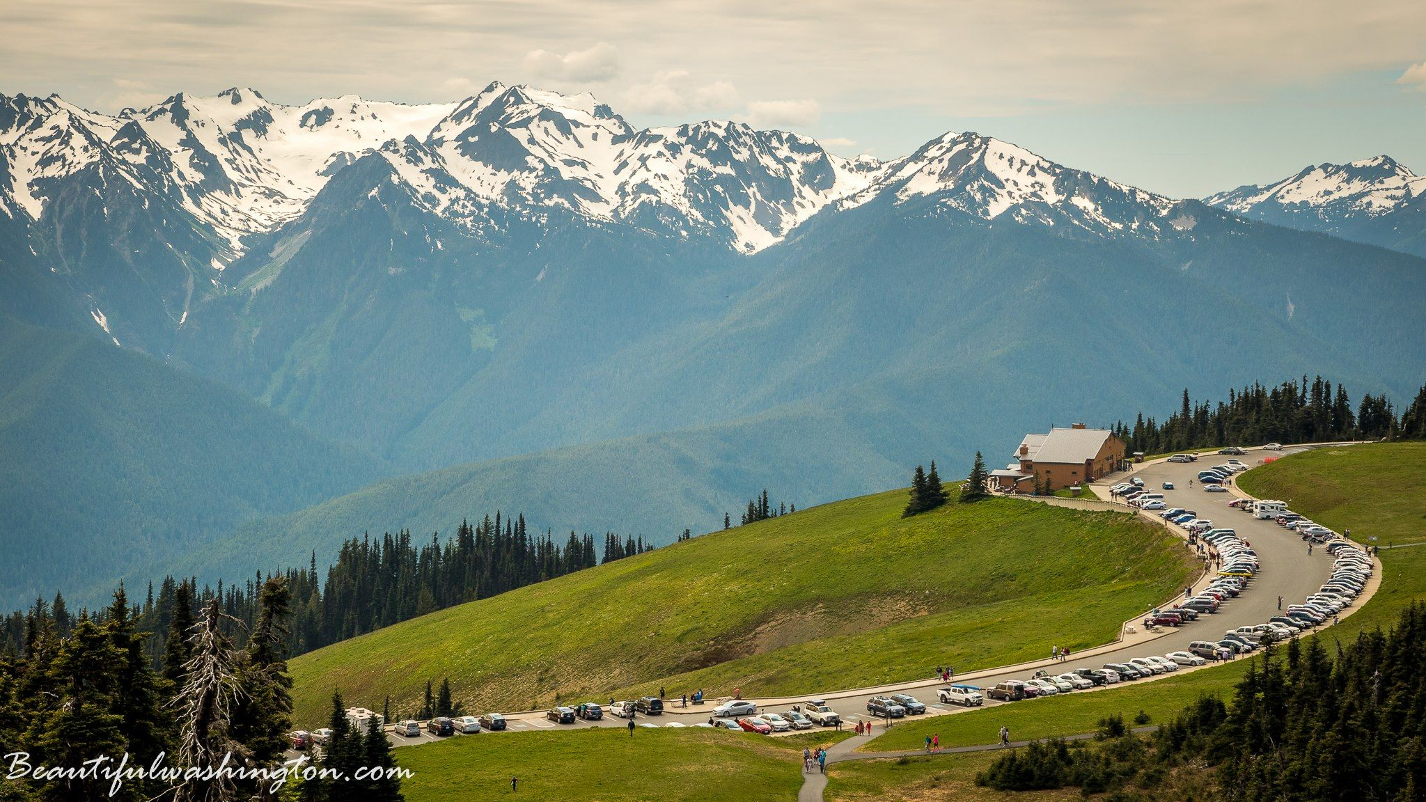 Photo of Hurricane Ridge Visitor Center, Olympic National Park