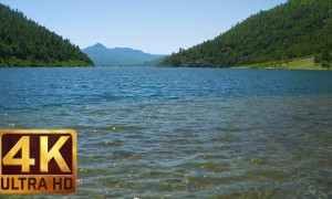 4K Relax Video - Coldwater Lake at Mt. St. Helens - 4 HRS