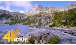 Enchantment Lakes, Washington - 4K Nature Relax Video - 3 HRS