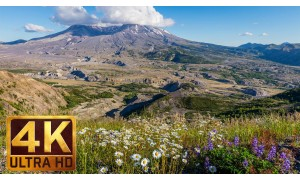 4K/4K HDR Nature Documentary Film - Mount St. Helens - 1.5 HRS