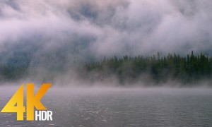 4 Hours of Lake Relaxation Scenery in 4K HDR/4K Ultra HD | Snow Lakes, Enchantments Area