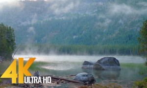 Snow Lakes Hiking. The Enchantments - 4K Nature Relax Video from Washington State