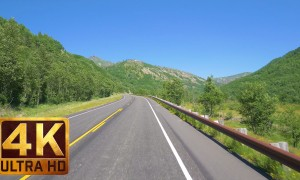 Spirit Lake HWY-Coldwater Lake, Mt. St.  Helens-Scenic Road in 4K - 5 HRS