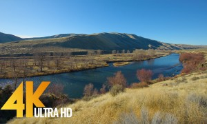 Yakima Canyon River, Eastern Washington, WA – UHD Relaxing Video with River Views and Nature Sounds