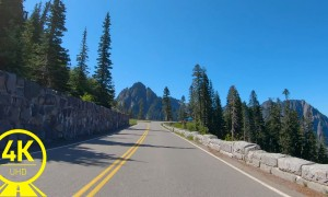 National Park Highway, State Route 760, Washington State - Scenic Drive Video/Video for training/Indoor Cycling