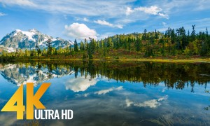 North Cascades National Park - Scenic Nature Documentary Film in 4K UHD - Part #1