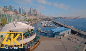 Colorful City Life of Downtown Seattle - 4K Urban Life Film (with Music) - Cities of the World