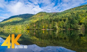 4K Relax with Nature - Stress Relief Video with Gentle Female Voice Over - Part #1