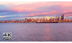 Seattle - The Emerald City 4K/HD. Episode 3 - Relaxation Video