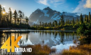 Mount Shuksan - 8 Hours of Relaxing Views and Nature Sounds